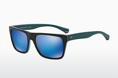 Ophthalmic Glasses Emporio Armani EA4048 539355 - Black, Blue, Green