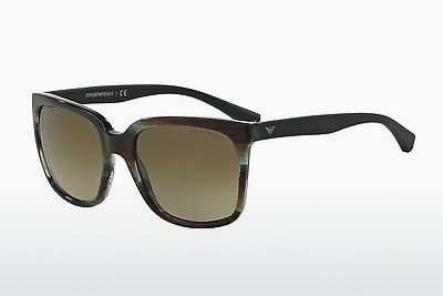 Ophthalmic Glasses Emporio Armani EA4049 538813 - Brown, Havanna, Green