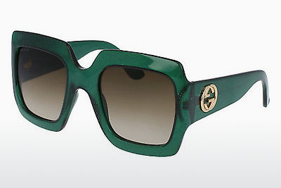 Ophthalmic Glasses Gucci GG0053S 005 - Green