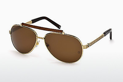Ophthalmic Glasses Mont Blanc MB454T 28M - Gold