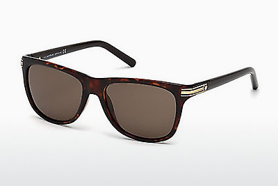 Ophthalmic Glasses Mont Blanc MB502S 52E - Brown, Havanna