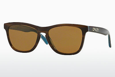 Ophthalmic Glasses Oakley FROGSKINS LX (OO2043 204303) - Brown, Havanna, Blue