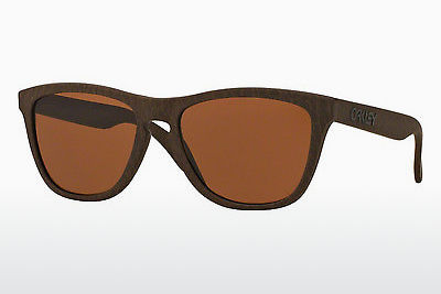 Ophthalmic Glasses Oakley FROGSKINS (OO9013 901376) - Brown, Tobacco