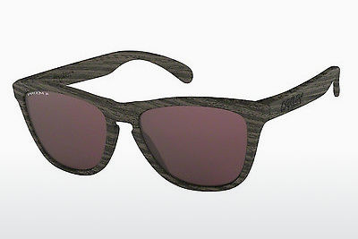 Ophthalmic Glasses Oakley FROGSKINS (OO9013 901389) - Brown, Woodgrain