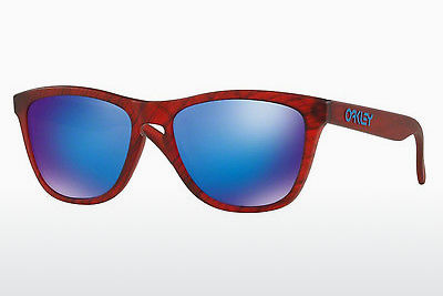 Ophthalmic Glasses Oakley FROGSKINS (OO9013 9013B7) - Red, Brown