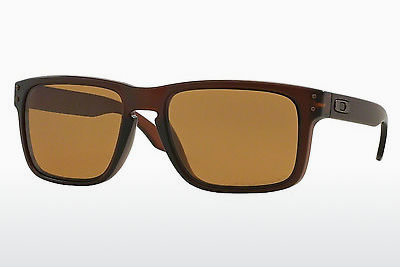 Ophthalmic Glasses Oakley HOLBROOK (OO9102 910203) - Brown, Rootbeer