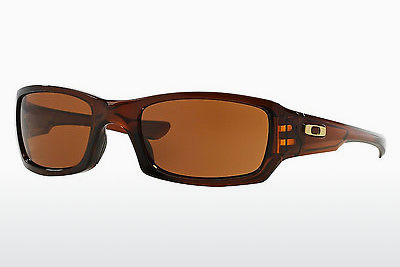 Ophthalmic Glasses Oakley FIVES SQUARED (OO9238 923807) - Brown, Rootbeer