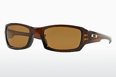 Ophthalmic Glasses Oakley FIVES SQUARED (OO9238 923808) - Brown, Rootbeer