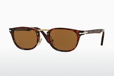Ophthalmic Glasses Persol PO3127S 24/57 - Brown, Havanna