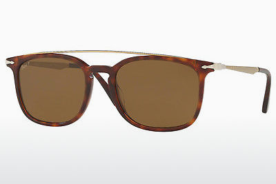 Ophthalmic Glasses Persol PO3173S 24/57 - Brown, Havanna