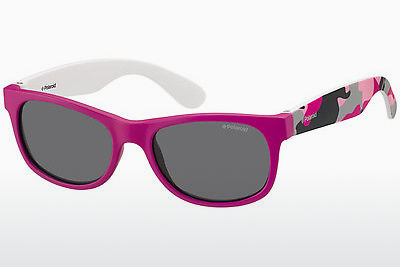 Ophthalmic Glasses Polaroid Kids P0300 TCS/Y2 - Pink, Flowers