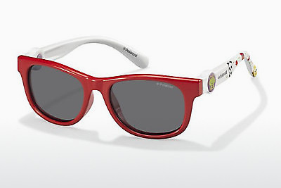 Ophthalmic Glasses Polaroid Kids PLD 8011/S MC4/Y2 - Red