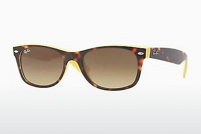 Ophthalmic Glasses Ray-Ban NEW WAYFARER (RB2132 601485) - Brown, Havanna