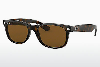 Ophthalmic Glasses Ray-Ban NEW WAYFARER (RB2132 902/57) - Brown, Havanna