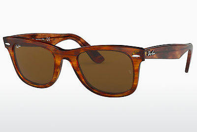 Ophthalmic Glasses Ray-Ban WAYFARER (RB2140 954) - Brown, Havanna