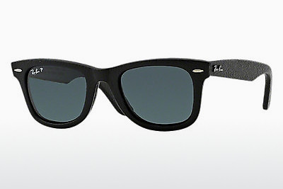 Ophthalmic Glasses Ray-Ban WAYFARER LEATHER (RB2140QM 1152N5) - Black