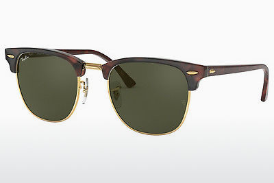 Ophthalmic Glasses Ray-Ban CLUBMASTER (RB3016 W0366) - Black, Brown, Havanna, Gold