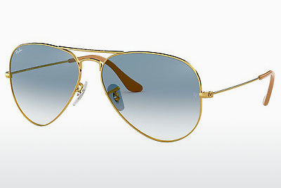 Ophthalmic Glasses Ray-Ban AVIATOR LARGE METAL (RB3025 001/3F) - Gold