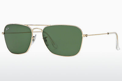 Ophthalmic Glasses Ray-Ban CARAVAN (RB3136 001) - Gold