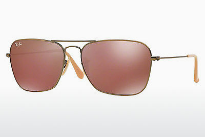 Ophthalmic Glasses Ray-Ban CARAVAN (RB3136 167/2K) - Brown, Bronze