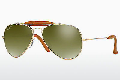Ophthalmic Glasses Ray-Ban AVIATOR CRAFT (RB3422Q 001/M9) - Gold