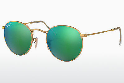 Ophthalmic Glasses Ray-Ban ROUND METAL (RB3447 112/P9) - Gold
