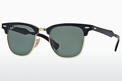 Ophthalmic Glasses Ray-Ban CLUBMASTER ALUMINUM (RB3507 136/N5) - Black, Gold