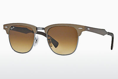 Ophthalmic Glasses Ray-Ban CLUBMASTER ALUMINUM (RB3507 139/85) - Brown, Bronze