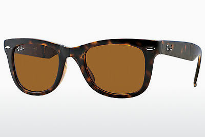 Ophthalmic Glasses Ray-Ban FOLDING WAYFARER (RB4105 710) - Brown, Havanna