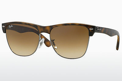 Ophthalmic Glasses Ray-Ban CLUBMASTER OVERSIZED (RB4175 878/51) - Brown, Havanna