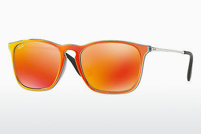 Ophthalmic Glasses Ray-Ban CHRIS (RB4187 63206Q) - Grey, Orange