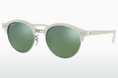 Ophthalmic Glasses Ray-Ban Clubround (RB4246 988/2X) - White
