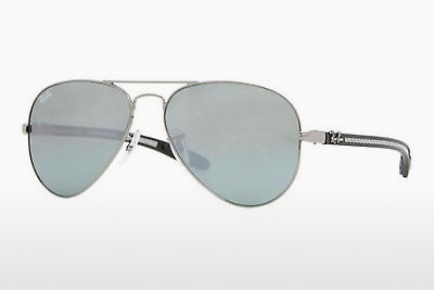 Ophthalmic Glasses Ray-Ban AVIATOR TM CARBON FIBRE (RB8307 004/40) - Silver