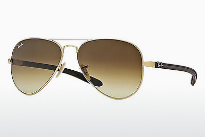 Ophthalmic Glasses Ray-Ban AVIATOR TM CARBON FIBRE (RB8307 112/85) - Gold