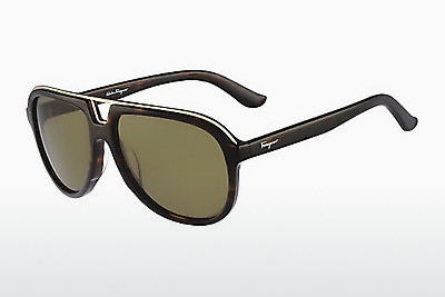 Ophthalmic Glasses Salvatore Ferragamo SF730S 214 - Tortoise