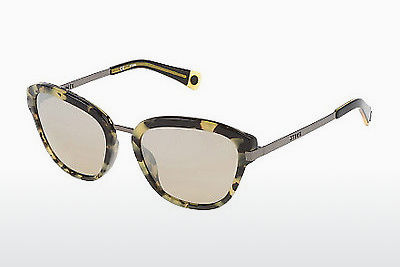 Ophthalmic Glasses Sting SS6585 801X - Yellow, Havanna