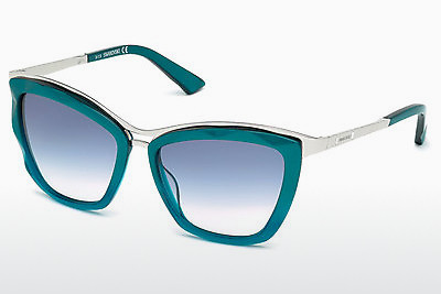 Ophthalmic Glasses Swarovski SK0116 87W - Blue, Turquoise, Shiny