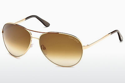 Ophthalmic Glasses Tom Ford Charles (FT0035 772) - Gold