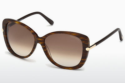Ophthalmic Glasses Tom Ford Linda (FT0324 50F) - Brown, Dark