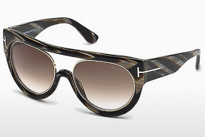 Ophthalmic Glasses Tom Ford Alana (FT0360 63F) - Brown, Ivory, Black