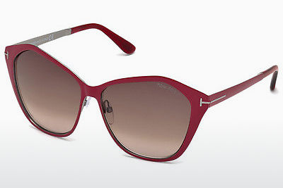 Ophthalmic Glasses Tom Ford Lena (FT0391 69Z) - Burgundy, Bordeaux, Shiny