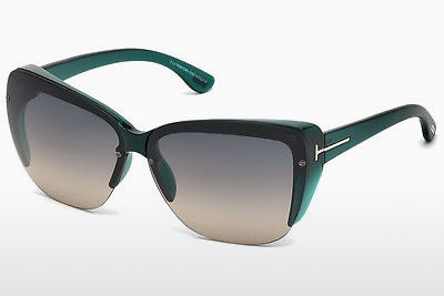 Ophthalmic Glasses Tom Ford FT0457 87B - Blue, Turquoise, Shiny
