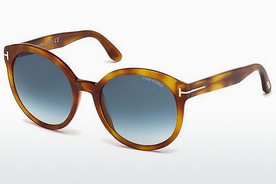 Ophthalmic Glasses Tom Ford Philippa (FT0503 53W) - Brown, Havanna