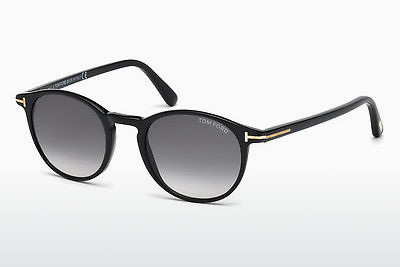 Ophthalmic Glasses Tom Ford Andrea (FT0539 01B) - Black, Shiny