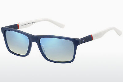 Ophthalmic Glasses Tommy Hilfiger TH 1405/S H1O/DK - Blue, Red, White