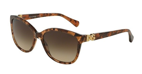 Dolce & Gabbana DG4258 255013 BROWN GRADIENTBROWN MARBLE