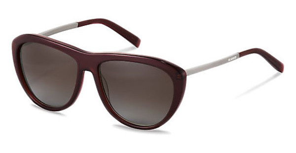 Jil Sander J3015 B brown gradient 84%dark red, gun