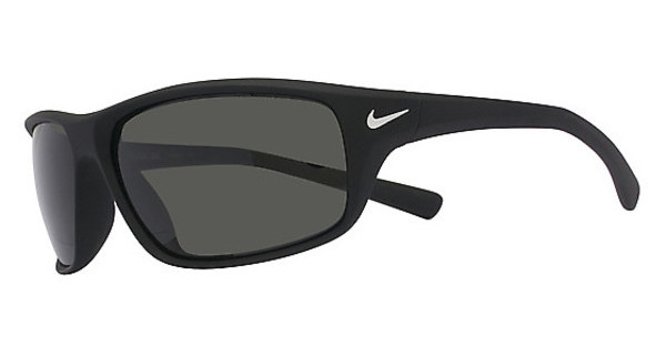Nike ADRENALINE P EV0606 095 MATTE BLACK WITH POLARIZED GREY LENS Polarized LENS