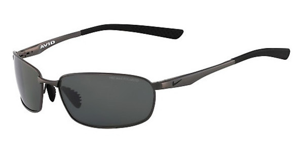 Nike AVID WIRE P EV0570 003 GUNMETAL WITH GREY Polarized LENS