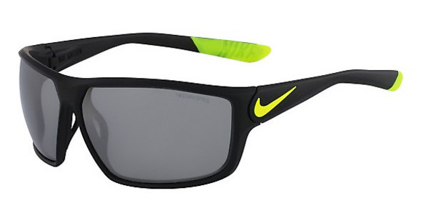 Nike NIKE IGNITION EV0865 007 MATTE BLACK/VOLT WITH GREY W/SILVER FLASH LENS LENS
